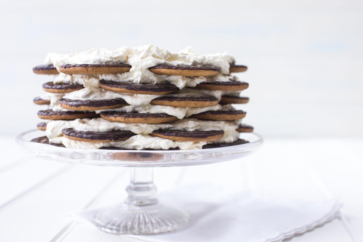 Biscuit Fridge Cake