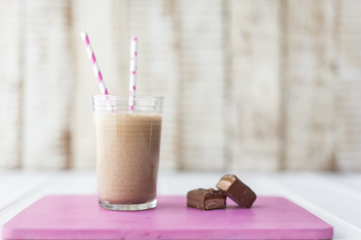 Mars Bar Milkshake