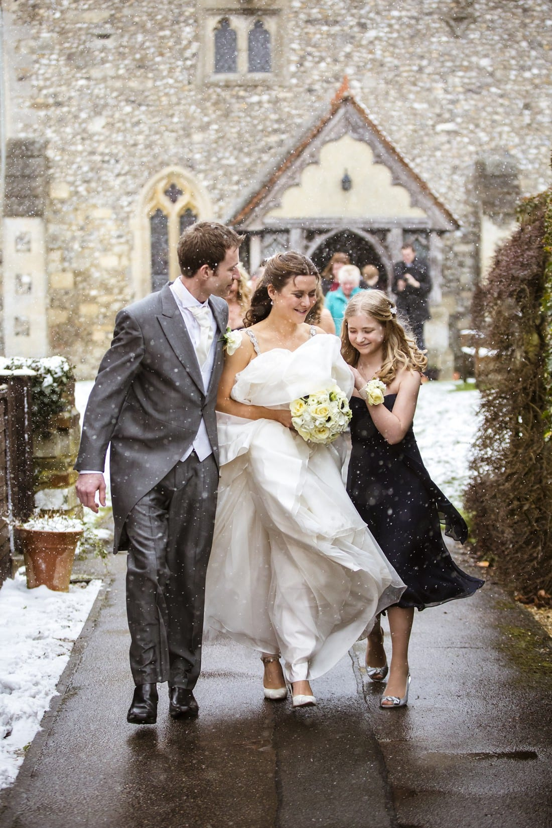 Susanna and Russ_snowy wedding at Buckland village church_0023