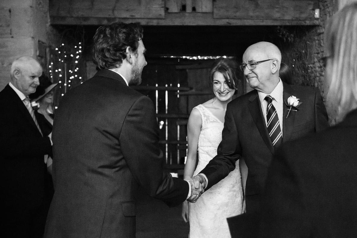 Holly and Jon - Cripps Stone Barn wedding 2
