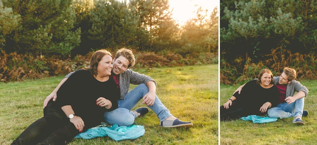 Amy and Neil_Norfolk_Pre-Wedding_Shoot_Thetford Forest_0003