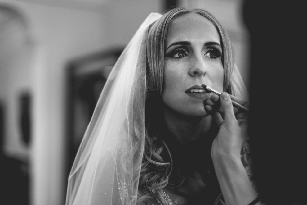 Bride getting ready - London Wedding
