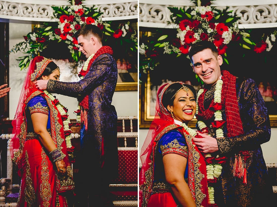 Bee and Jon_Hare Krishna Temple_Herts Wedding Photography_0042