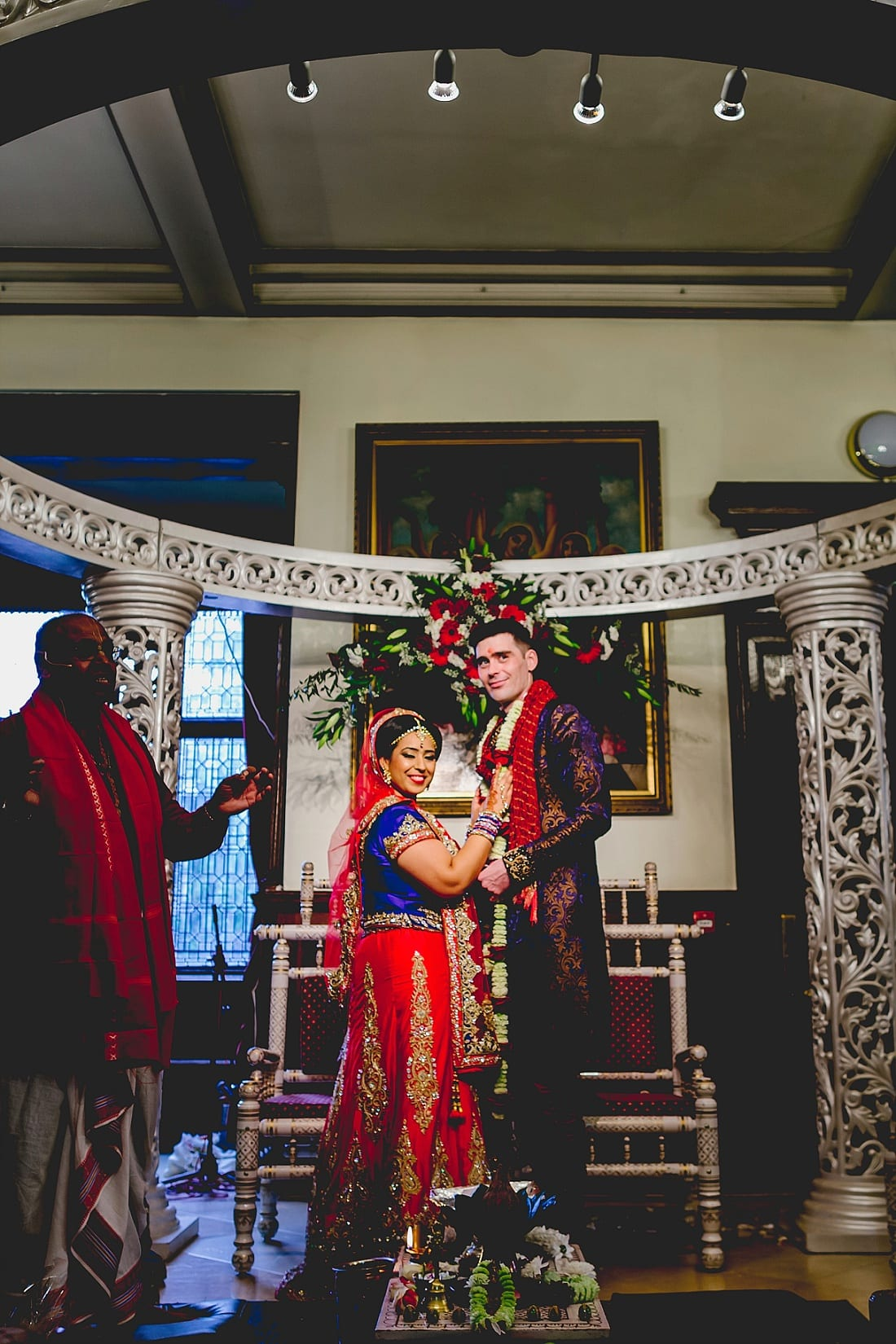 Bee and Jon_Hare Krishna Temple_Herts Wedding Photography_0043