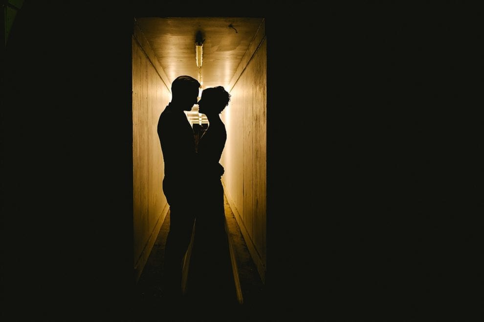 Finding light in unusual places - Helen and Jonny - London Wedding Photography