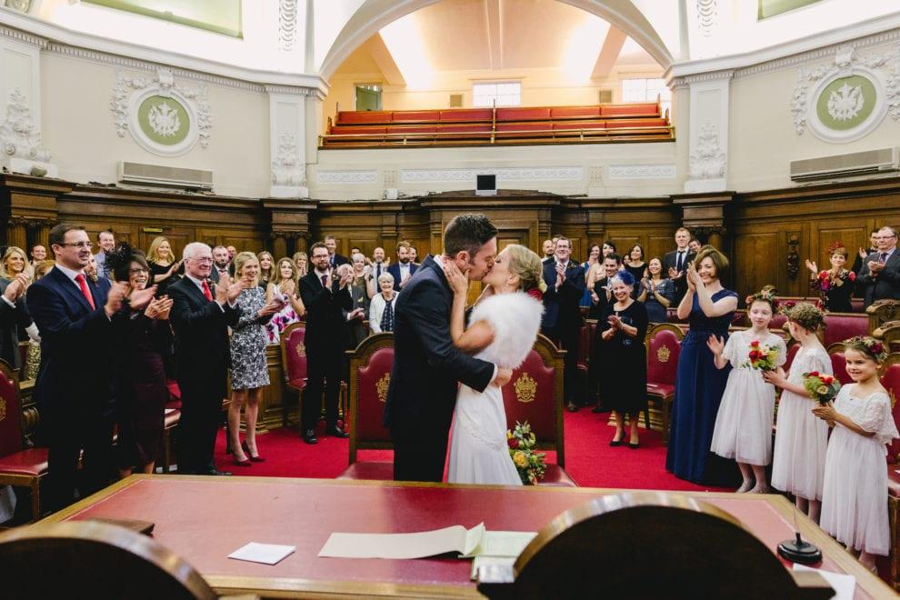 London Wedding Photograhy - Islington Town Hall and St Barts-89