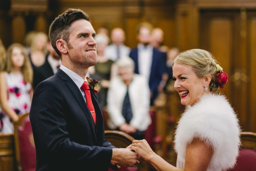 London Wedding Photograhy - Islington Town Hall and St Barts-85