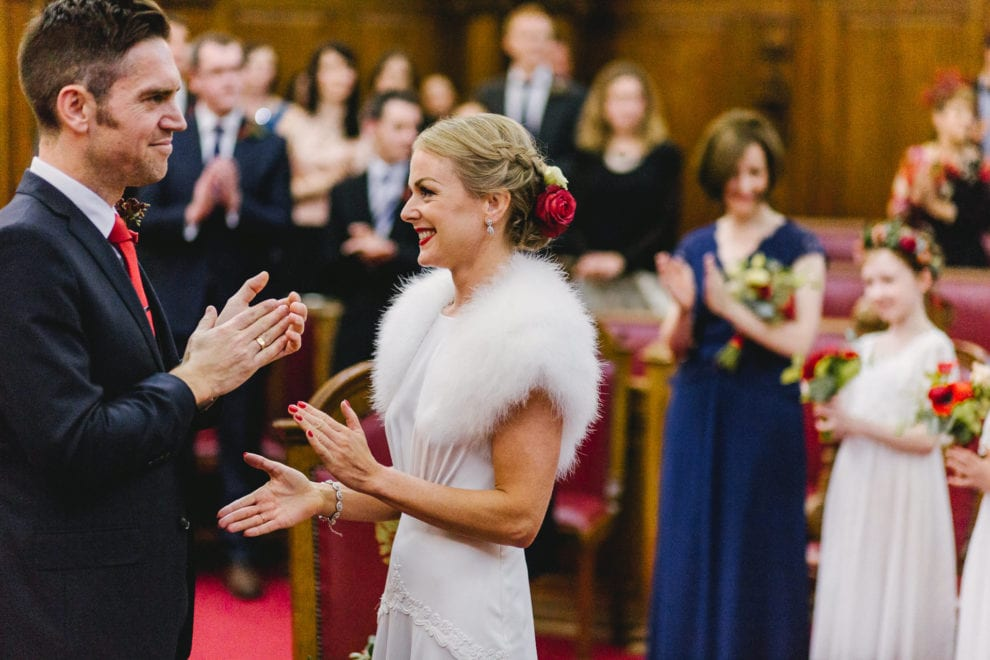 London Wedding Photograhy - Islington Town Hall and St Barts-79