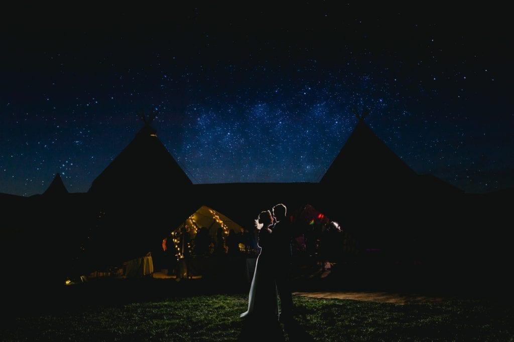 Under the stars - Buckinghamshire Wedding Photographer