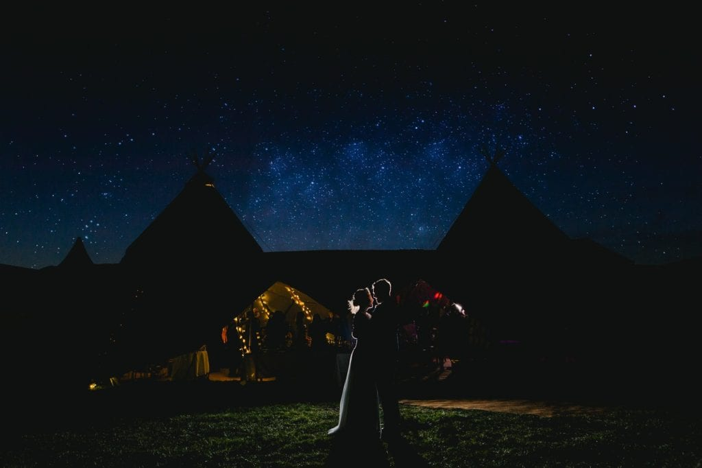 Under the stars - Bucks Wedding Photographer