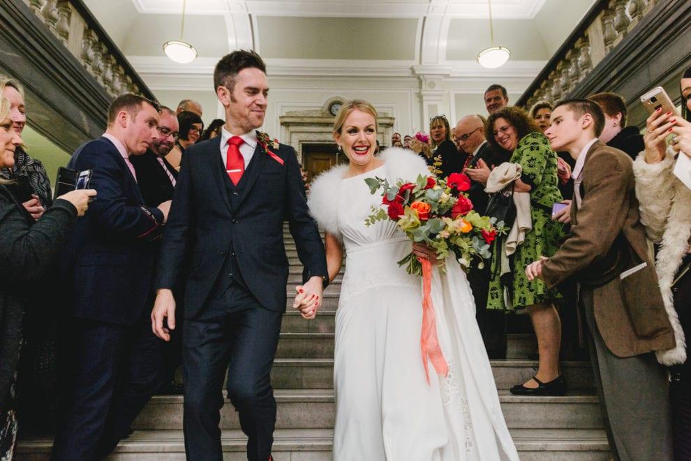 London Wedding Photograhy - Islington Town Hall and St Barts-100