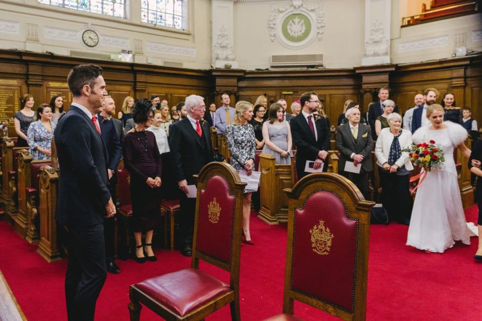 London Wedding Photograhy - Islington Town Hall and St Barts-65