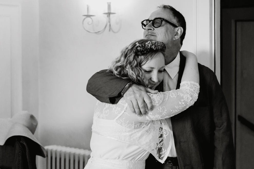 My best wedding photography 2017_Bryony and her dad at Bruisyard Hall