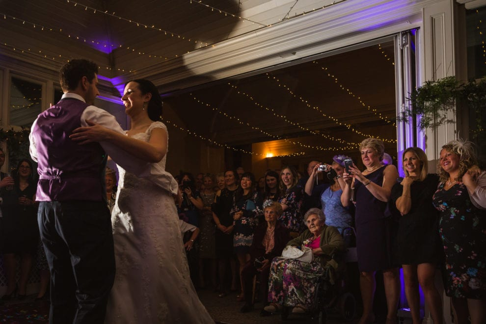 Alix and Dan's first dance at the Elvetham 2