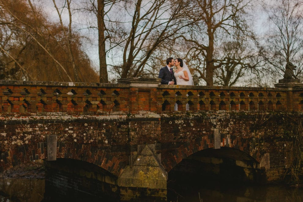 Alix and Dan by the gates at the Elvetham2