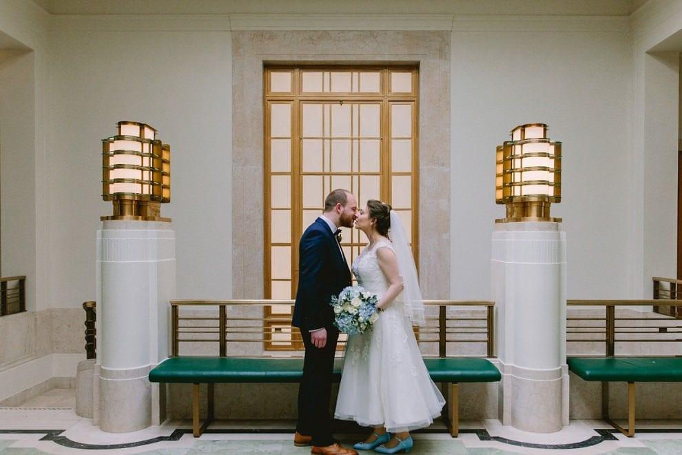 Hackney Town Hall - London Wedding Photographer_0037