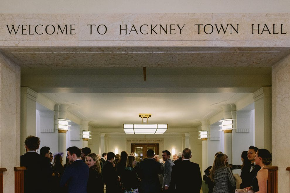 Hackney Town Hall - London Wedding Photographer_0016
