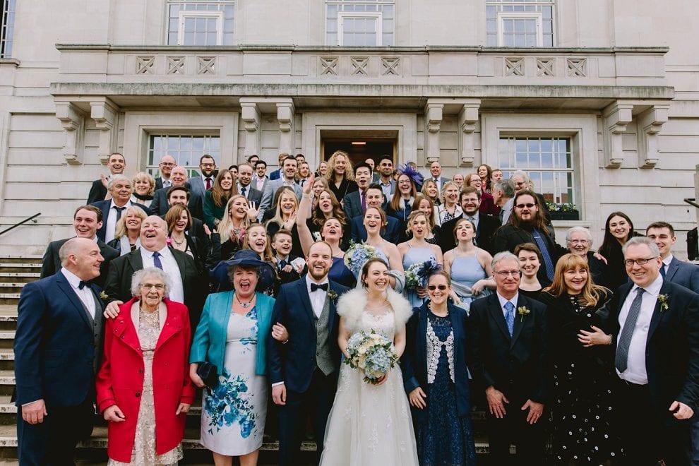 Hackney Town Hall - London Wedding Photographer_0048