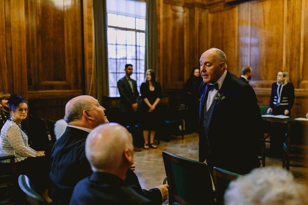 Hackney Town Hall - London Wedding Photographer_0023