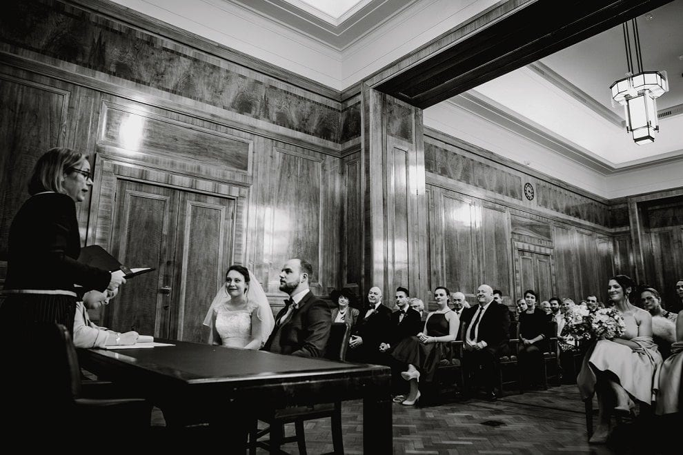 Hackney Town Hall - London Wedding Photographer_0030