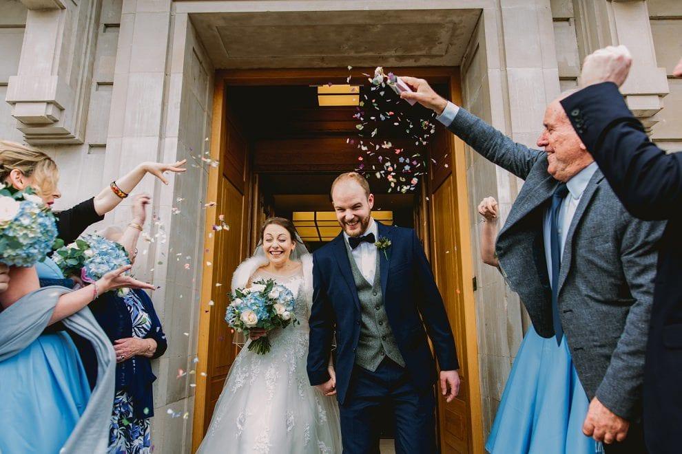 Hackney Town Hall - London Wedding Photographer_0042