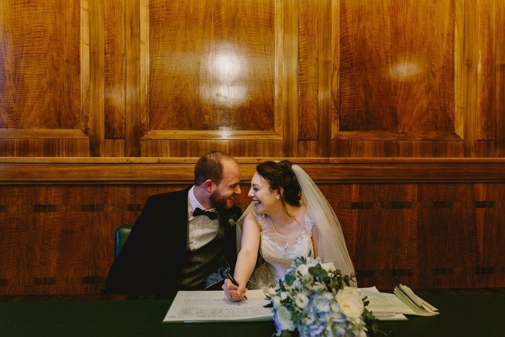 Hackney Town Hall - London Wedding Photographer_0034