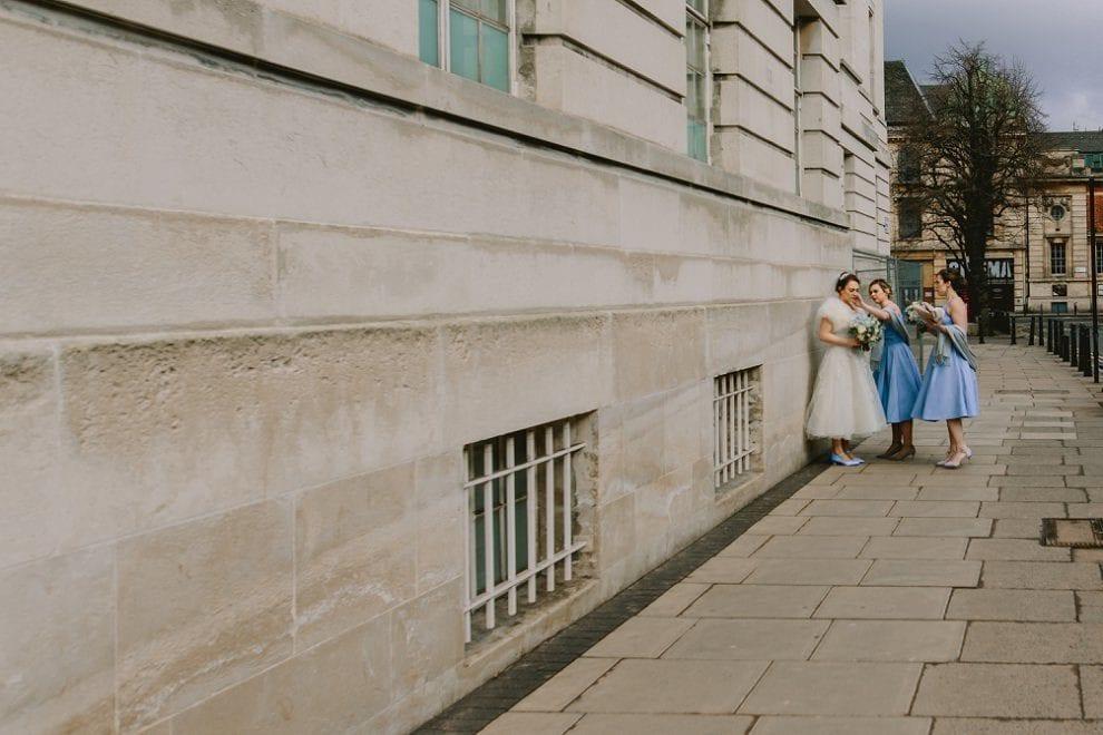Hackney Town Hall - London Wedding Photographer_0019