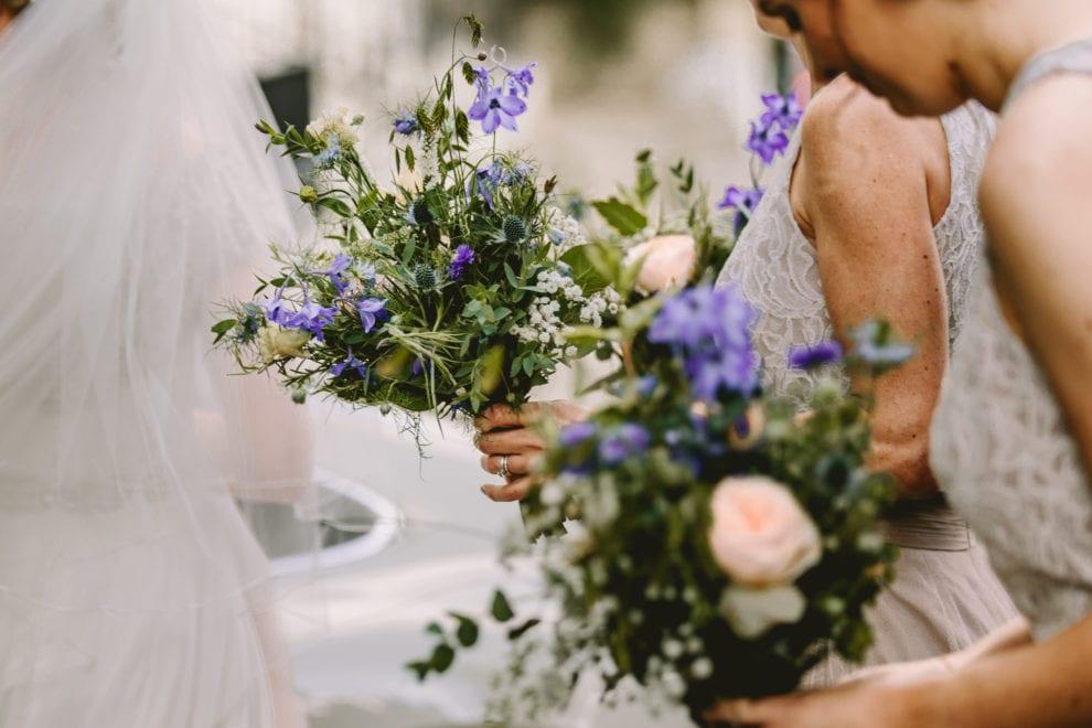 Eggington House - Bedfordshire Wedding Photographer- bouquet