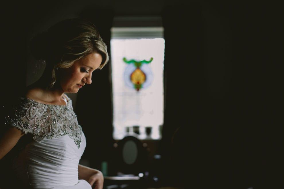 Eggington House - Bedfordshire Wedding Photographer-Claire in the light
