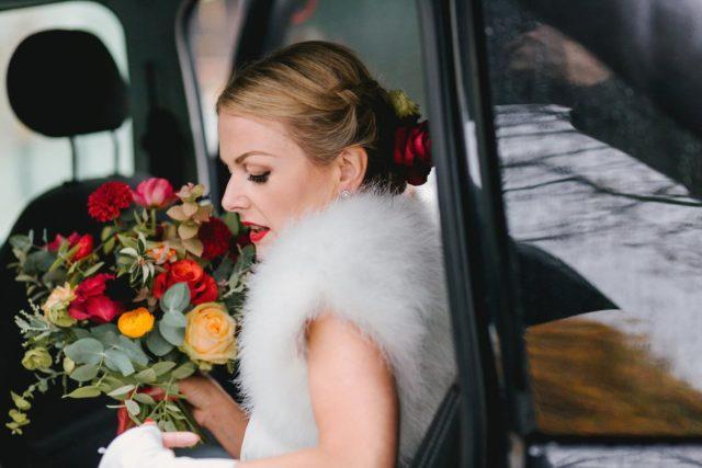 beautiful November Bride. London Wedding Photographer