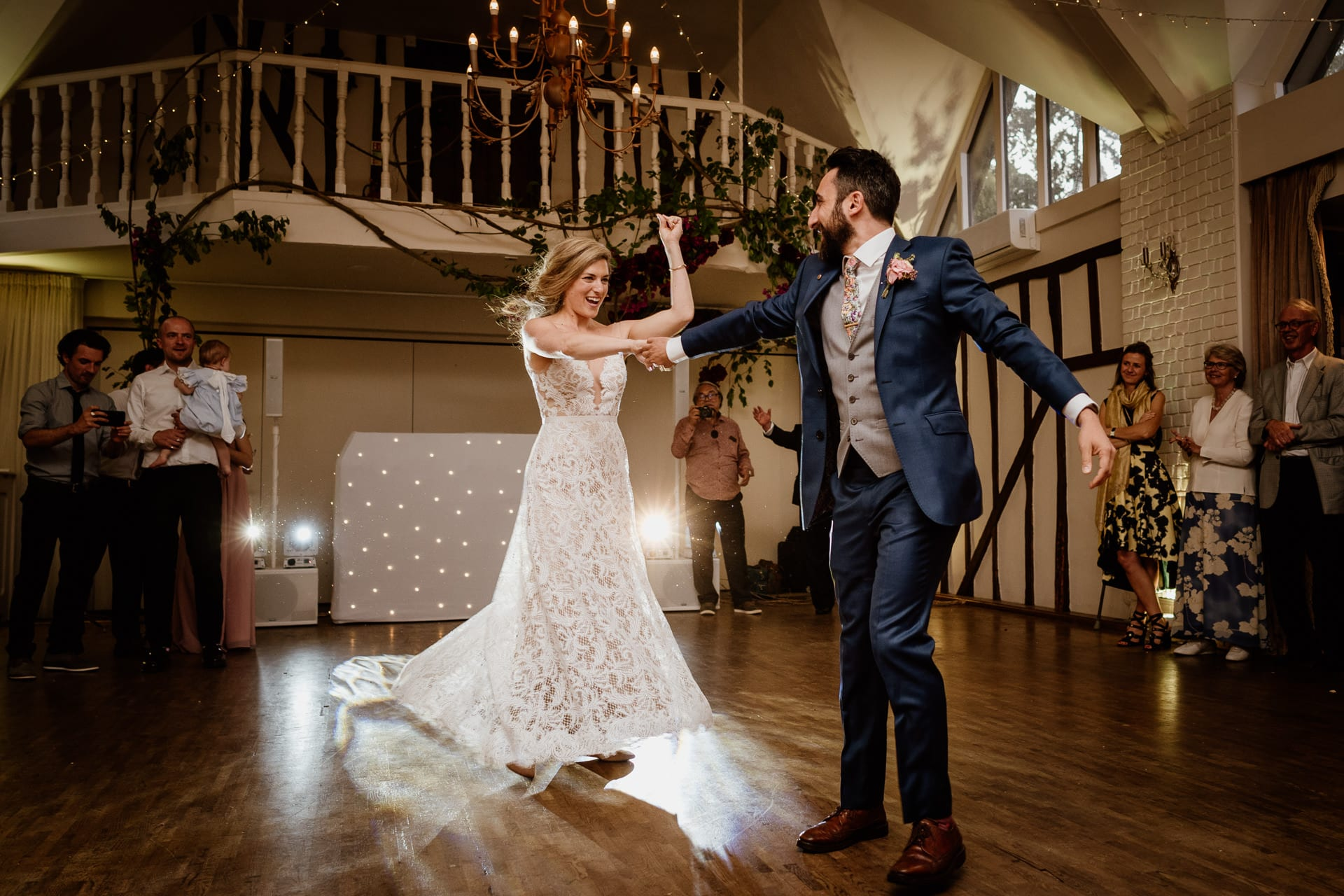 First dance at Seckford Hall