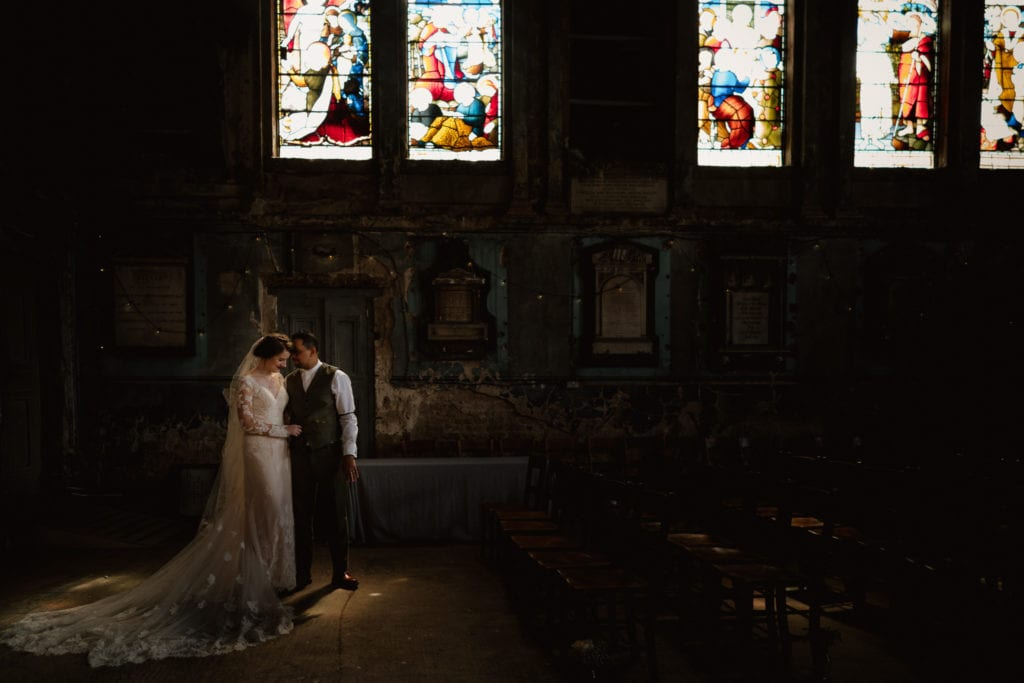 the incredible light at the asylum chapel in london