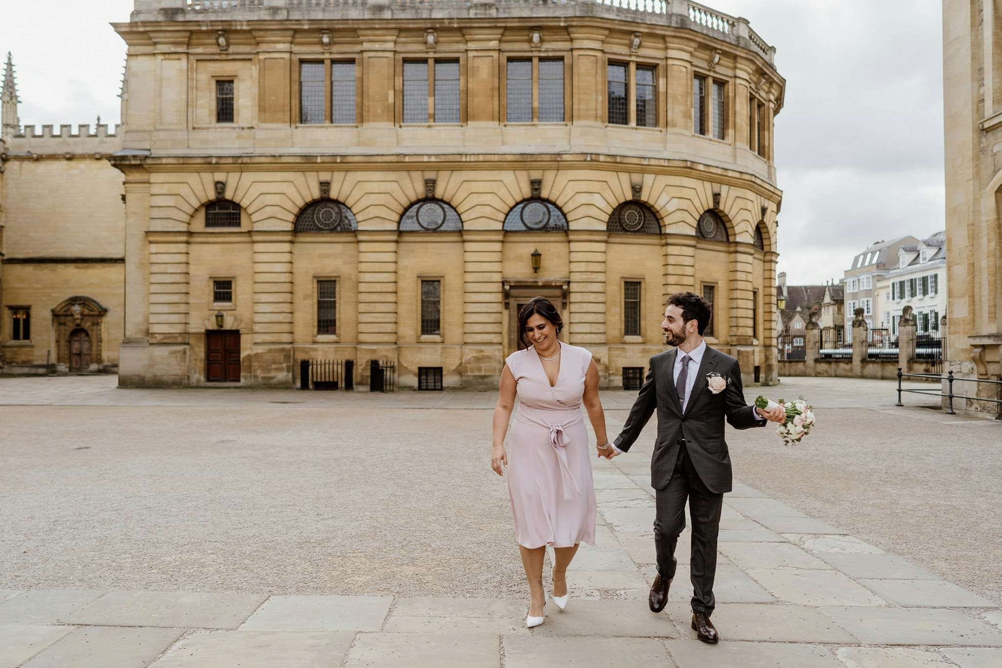Intimate wedding in Oxford