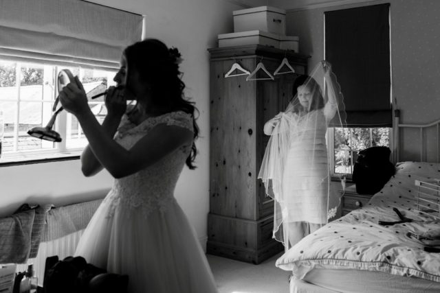 Documentary wedding photographer, Hertfordshire