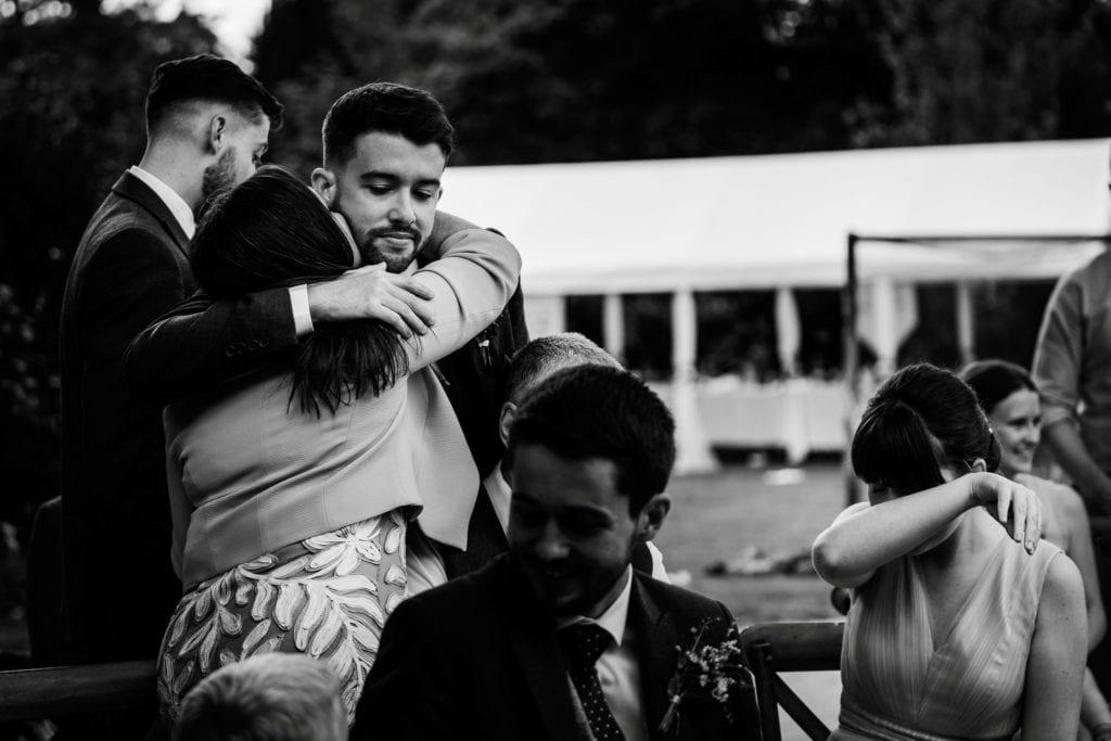 Speeches at a lockdown wedding in Hertfordshire