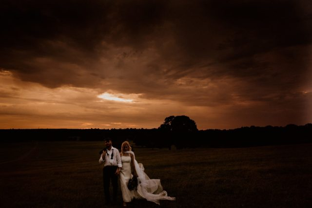 Dramatic sky over Woburn for our editorial shoot