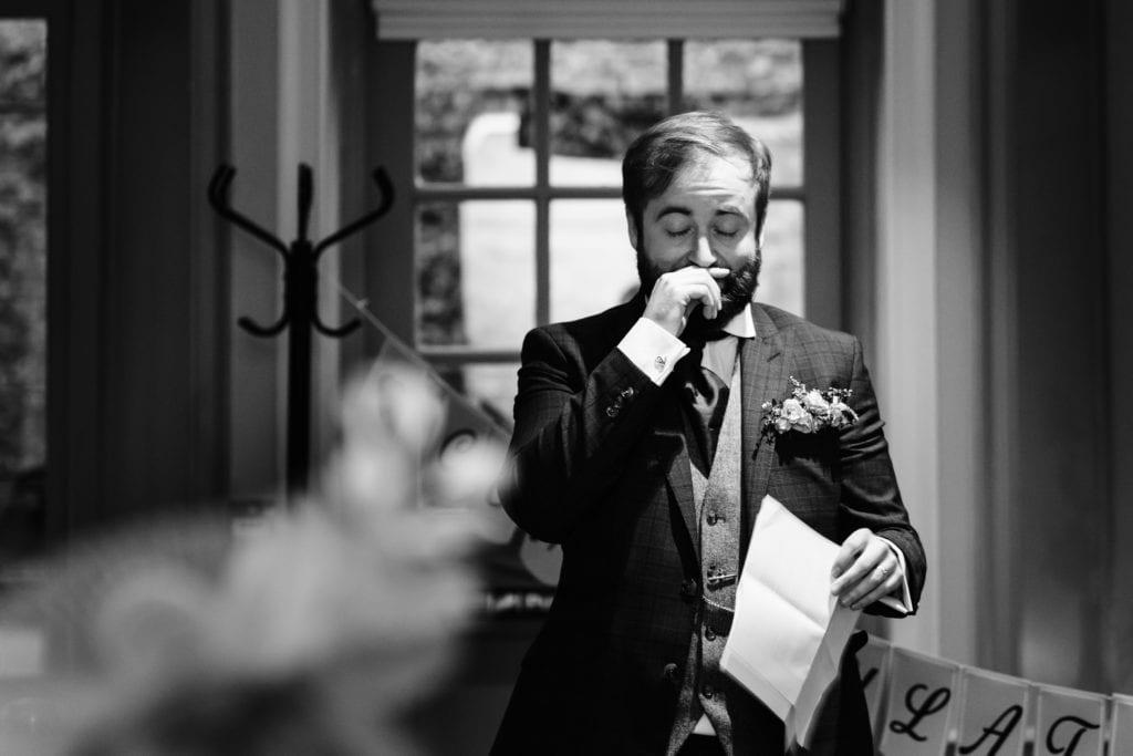 The Speeches - Lockdown Wedding in Warwickshire