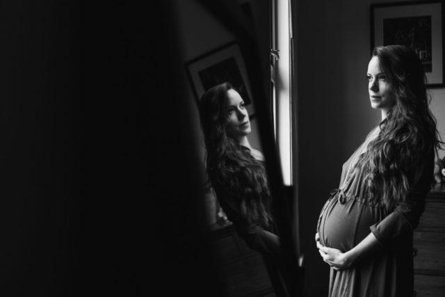 Buckinghamshire Portrait Photographer - with reflection