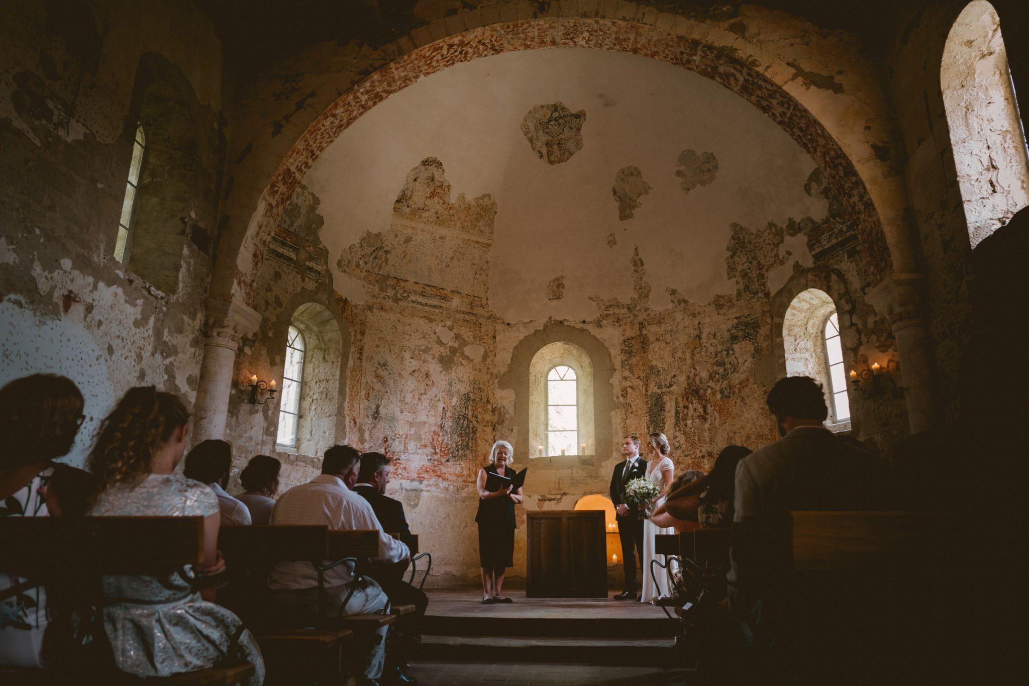 The chapel at Chateau de Queille